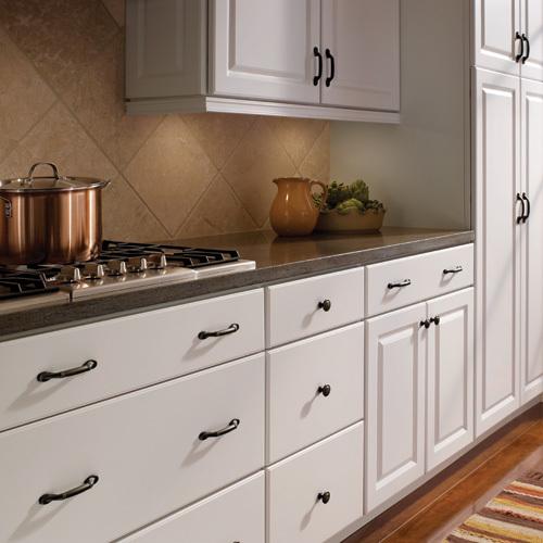 Amerock Decorative Cabinet and Bath Hardware: BP1586RB | Cabinet ...