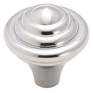 "Amerock - Divinity - Polished Chrome 1 1/4"" ( 32mm ) Knob"