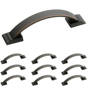 "Amerock Hardware - 10 Pack of 3"" Centers Handle in Oil Rubbed Bronze"