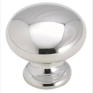"Amerock - Brass Classics - 1 1/4"" Diameter Knob in Polished Chrome"