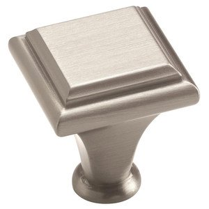 "Amerock Manor Satin Nickel 1"" Knob"