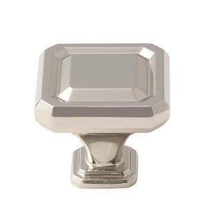 "Amerock - Wells - 1 1/2"" Knob in Polished Nickel"