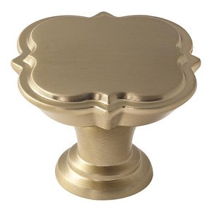 "Amerock - Grace Revitalize - 1 3/4"" Diameter Knob in Golden Champagne"
