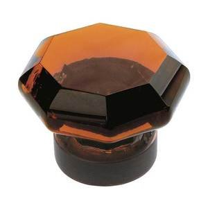"Amerock - Luminous 1"" Glass Knob in Oil Rubbed Bronze"