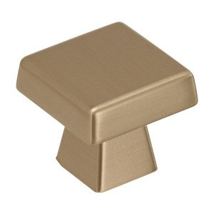 "Amerock - Blackrock - 1 1/2"" Long Cabinet Knob in Golden Champagne"