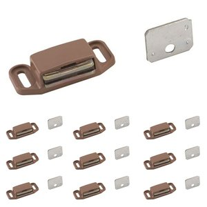 Amerock - Catches and Accessories - 10 Pack of Magnetic Catch in Tan