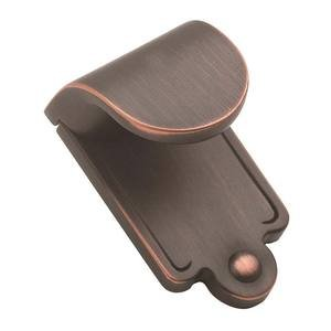 "Amerock - Inspirations - Oil Rubbed Bronze Finger Pull 1 7/8"" X 1 1/16"""