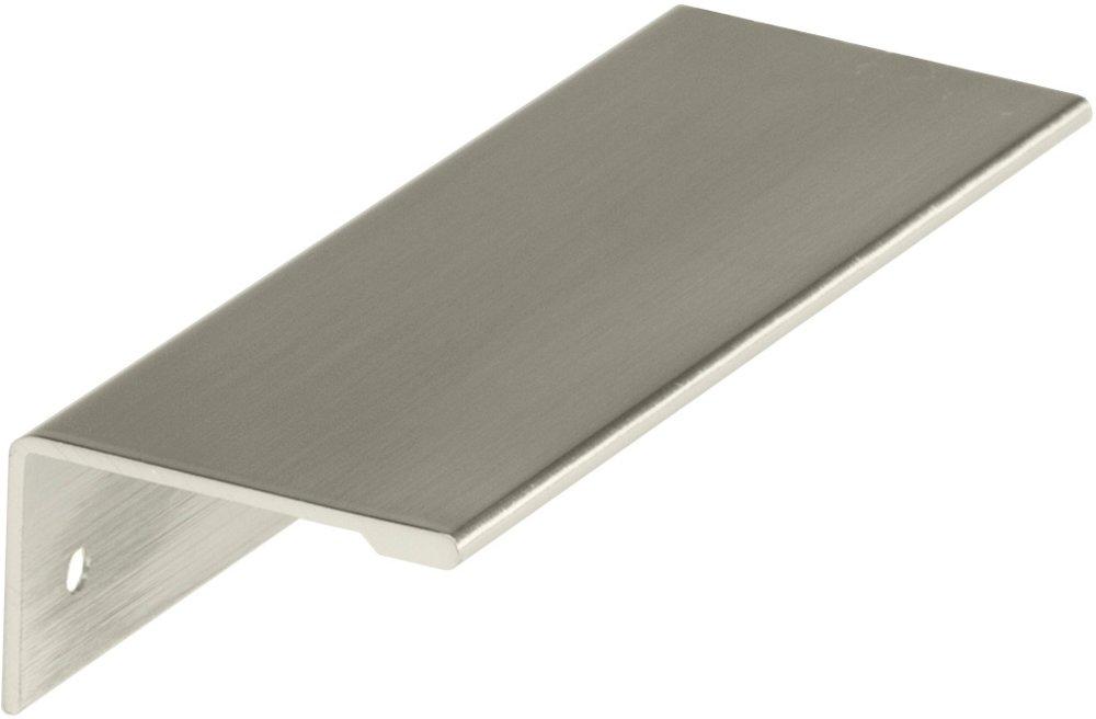 amerock decorative cabinet and bath hardware 2000853 edge pull satin nickel amerock edge. Black Bedroom Furniture Sets. Home Design Ideas