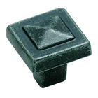 Amerock Forgings Wrought Iron Pyramid Knob 1 1/8""