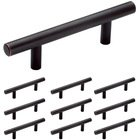 "Amerock - Bar Pulls - 10 Pack of 3"" Centers (5 3/8"" O/A) Bar Pull in Oil Rubbed Bronze"